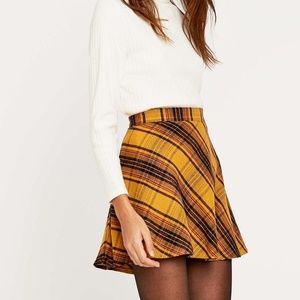 NWT Cooperative Flannel Plaid Skirt UO